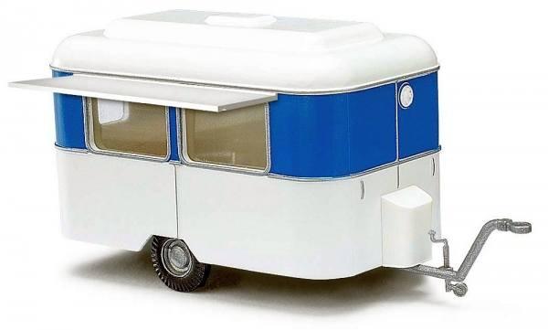 51750 - Busch - Nagetusch Verkaufswagen, weiß/blau