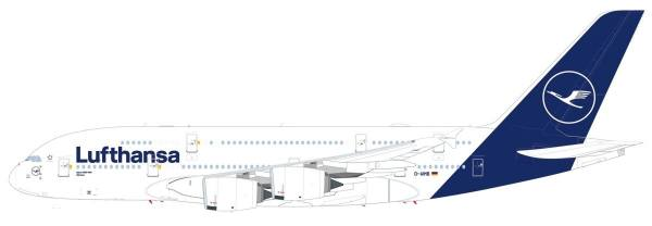 """612319 - Herpa - Lufthansa Airbus A380 """"München"""" - new colors"""