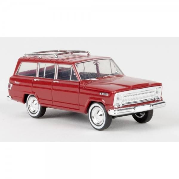 19850 - Brekina - Jeep Wagoneer (1966-1970) , rot