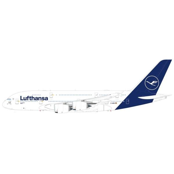 """559645 - Herpa - Lufthansa Airbus A380 """"München"""" - new colors"""