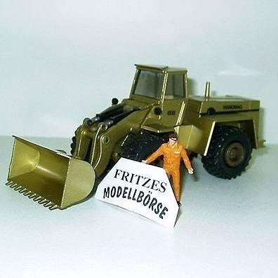 569 - Hanomag 66 Radlader- Sondermodell in Gold -