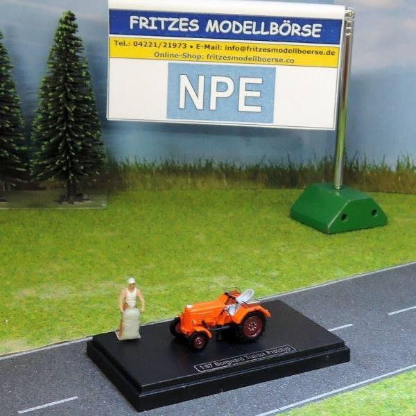 99074 - NPE - Borgward Traktor Prototyp -orange-