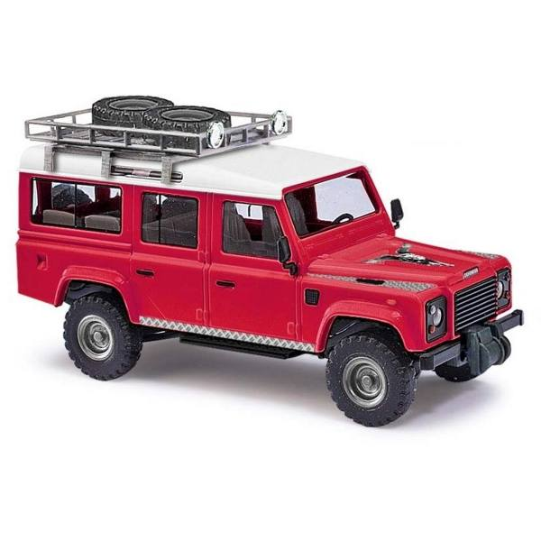 "50360 - Busch - Land Rover Defender 110 ""Lion"", rot"
