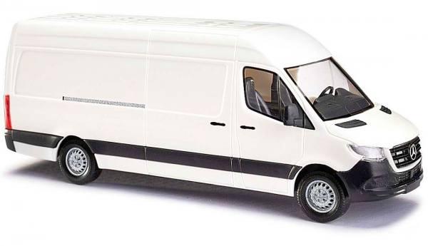 52600 - Busch - Mercedes-Benz Sprinter `18 Kasten, Hochdach, langer Radstand, (W907), weiß