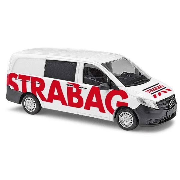 """51185 - Busch - Mercedes-Benz Vito `14 Halbbus """"Strabag"""""""