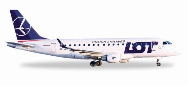 530583 - Herpa - LOT Polish Airlines Embraer E170 - 1:500