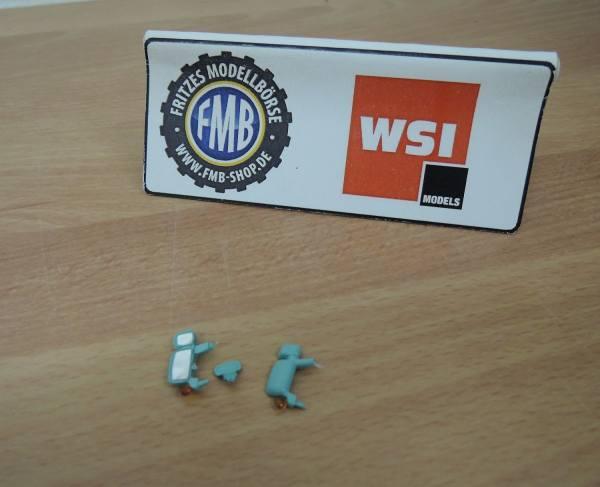 WSI - Spiegel-Set Scania R türkis mit Blinker