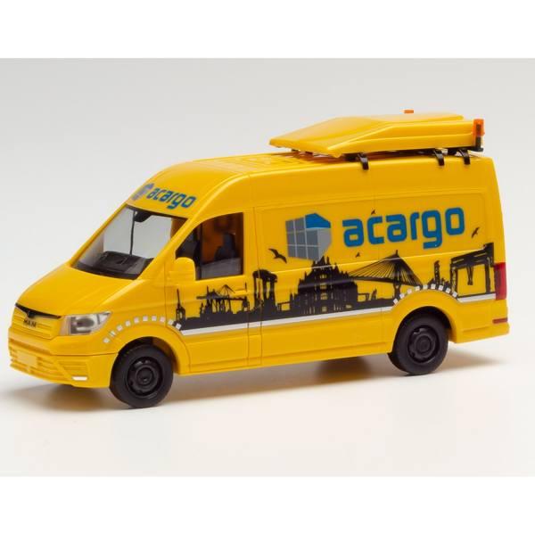 "095280 - Herpa - MAN TGE Kasten BF3 Begleitfahrzeug ""acargo Hamburg"""