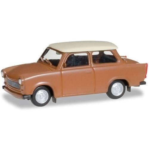 """020763-004 - Herpa - Trabant 601 Limousine """"braun/beige"""""""