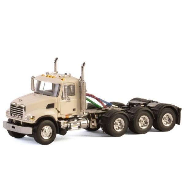 33-2018 - WSI - Mack Granite 8x4 weiß 4achs Zugmaschine - Basic Line - USA -
