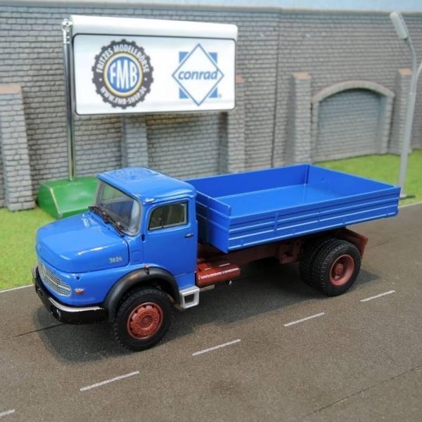 1057/0 - Conrad - Mercedes-Benz LAK 1624 2achs Kipper, blau