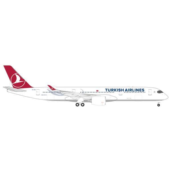 535465 - Herpa Wings - Turkish Airlines Airbus A350-900 - TC-LGA -