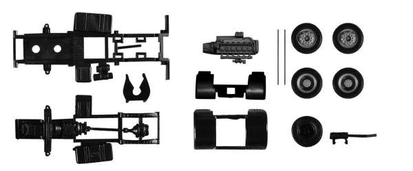 084925 - Herpa - TS Fahrgestell MAN Zgm F8, 2achs