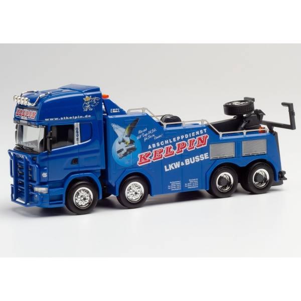 "311847 - Herpa - Scania R `04 Topline 8x4 Empl Bison Bergefahrzeug ""Kelpin"""