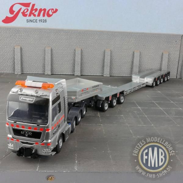 62992 - Tekno - MAN TGX XXL 8x4 mit Goldhofertieflader Fanger (CH)