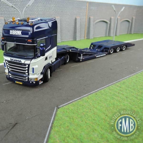 01-2225 - WSI - Scania R TL mit 3achs Truck-Transporter - Wilco v.d. Brink- NL - ohne Ladung -