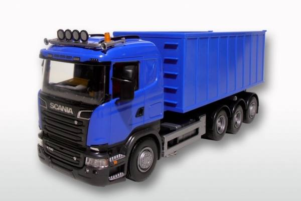 20804 - Scania R mit Abrollmulde gross  1:25