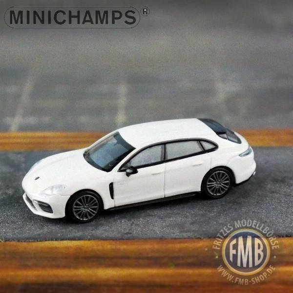 067110 - Minichamps - Porsche Panamera Sport Turismo Turbo S E-Hybrid (2017), weiß