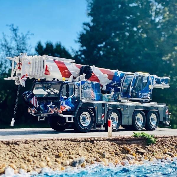 54-2009 - WSI - Liebherr LTM 1090-4.2 4achs Mobilkran - US Version / 50 Jahre Jubiläum