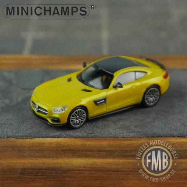 037322 - Minichamps - Brabus 600 auf Basis Mercedes-Benz AMG-GT S (2015), gold