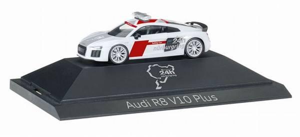 """102001 - Herpa - Audi R8 V10 plus  Safety Car """"24h Nürburgring"""" PC"""