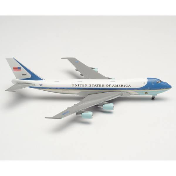 """502511-003 - Herpa Wings - US Air Force Boeing VC-25A """"Air Force One"""", 89th Airlift Wing"""