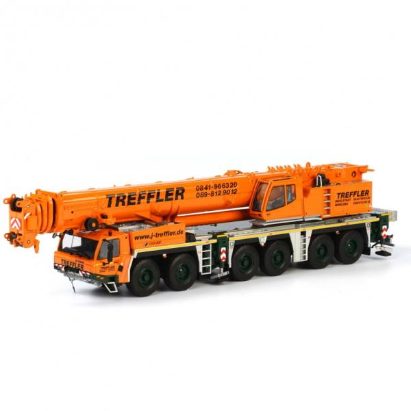 01-1548 - WSI Models - Tadano Faun ATF 400G-6 6achs Mobilkran - Treffler -