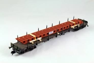 H09036 - Bauer - Lochträger mit Rostschutz, 195mm lang