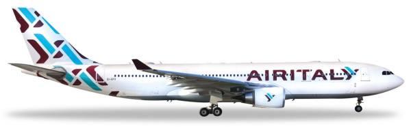 """532624 - Herpa - Air Italy  Airbus A330-200 """"EI-GFX"""" - 1:500"""