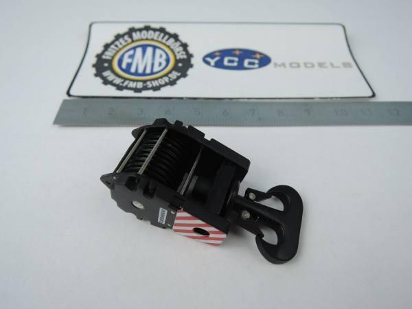 YC204 - YCC Models - Kranhaken 235 t, schwarz -9 Umlenkrollen-
