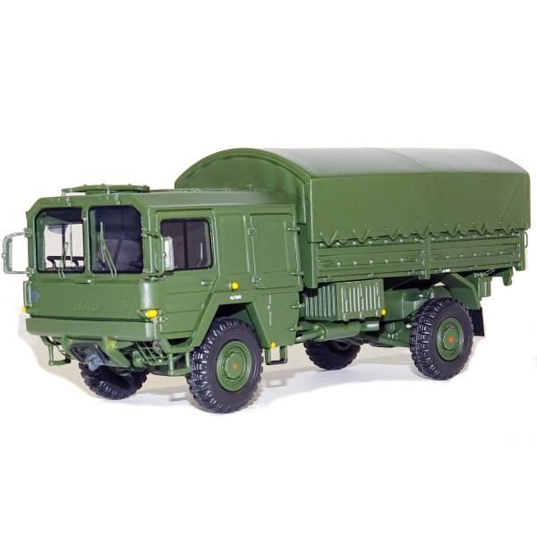 G0008210 - GMTS - MAN KAT 1 2achs Pritsche/Plane 5 to - Militär Bundeswehr -