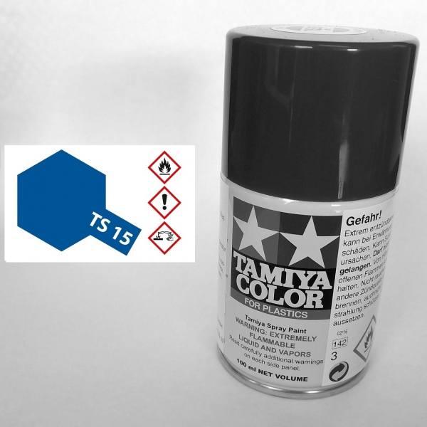 85015 - Tamiya - blau glänzend 100ml , Sprühdose TS-15
