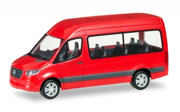 093804 - Herpa - Mercedes-Benz Sprinter `18 Bus HD, rot