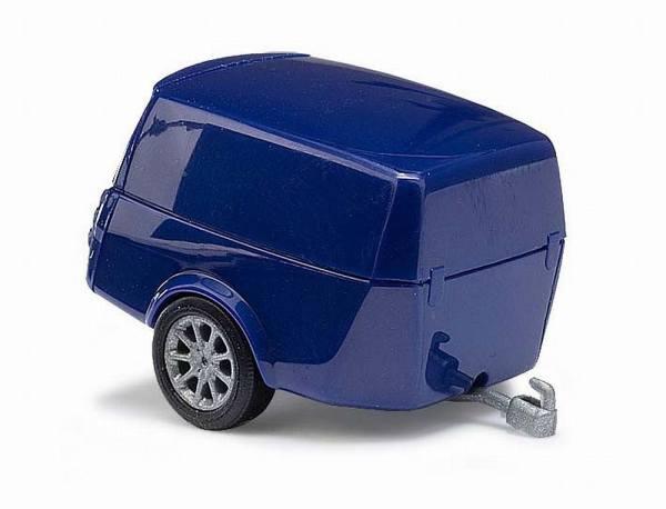 44992 - Busch - Clevertrailer Anhänger -blau-