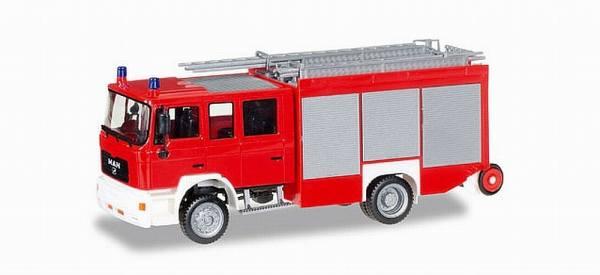 092913 - Herpa - MAN M2000 Löschfahrzeug HLF 20, rot/weiß