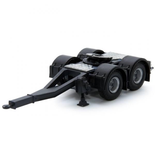 62404 - Tekno - Dolly, schwarz mit leichter Kröpfung