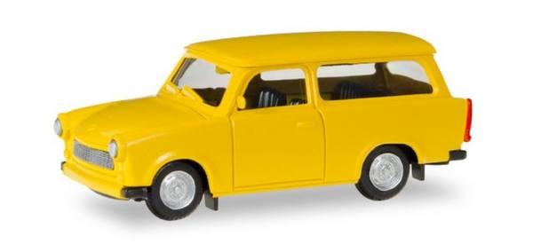012942 - Herpa - Minikit Trabant 601 Universal, gelb
