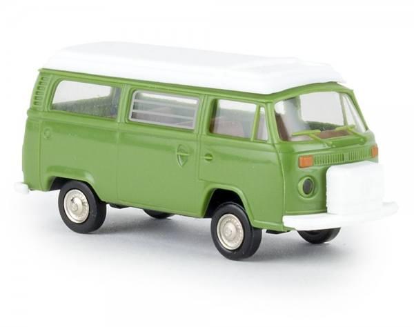 33139 - Brekina - VW T2 Camper mit Aufstelldach, grün