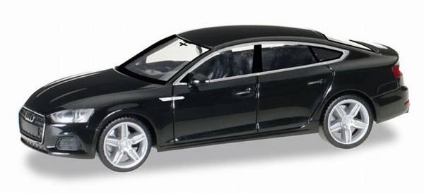 028707 - Herpa - Audi A5 Sportback, brillantschwarz