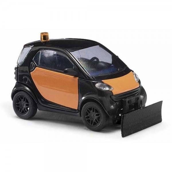 46169 - Busch - Smart City Coupe mit Schneeschieber