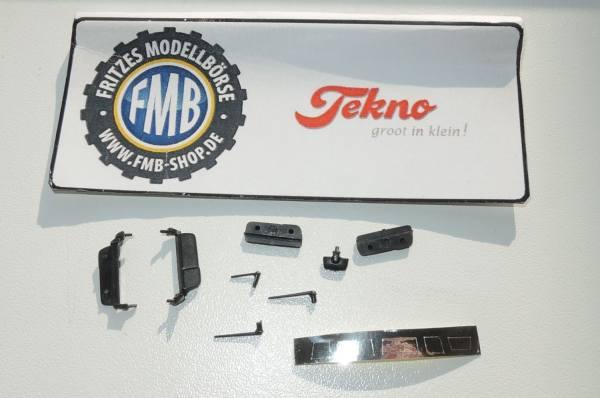 810 - Tekno - Mercedes-Benz Actros MP4 Spiegel Set für eine Zugmaschine