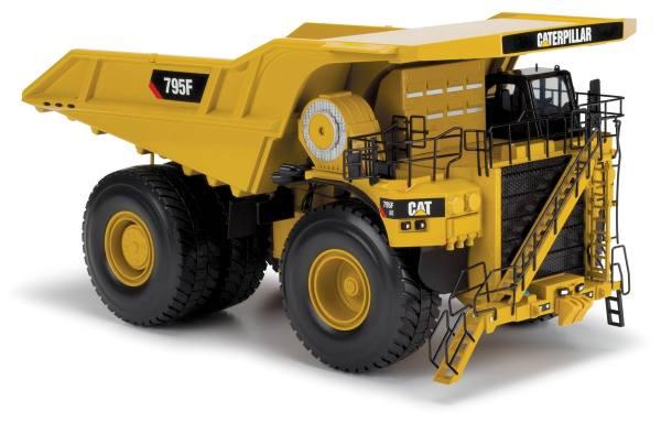 85515 - Diecast Masters - CAT 795F AC Mining Truck / Muldenkipper