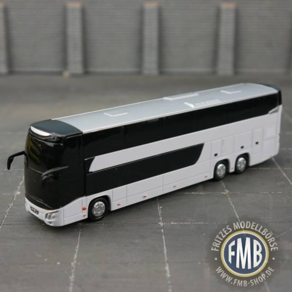 8-1197 - Holland Oto - VDL Futura FDD2 Doppelstock-Reisebus, weiß