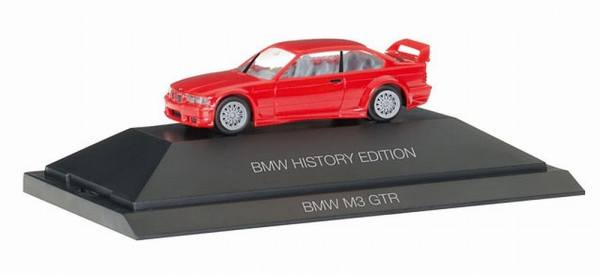 "102056 - Herpa - BMW M3 GTR, rot ""History Edition"" PC"