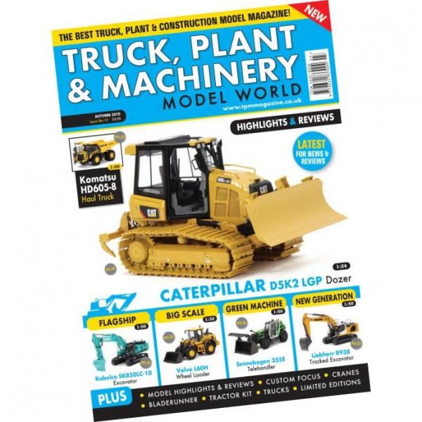 Herbst / Autumn 2019 - Truck, Plant & Machinery Model World - Magazin