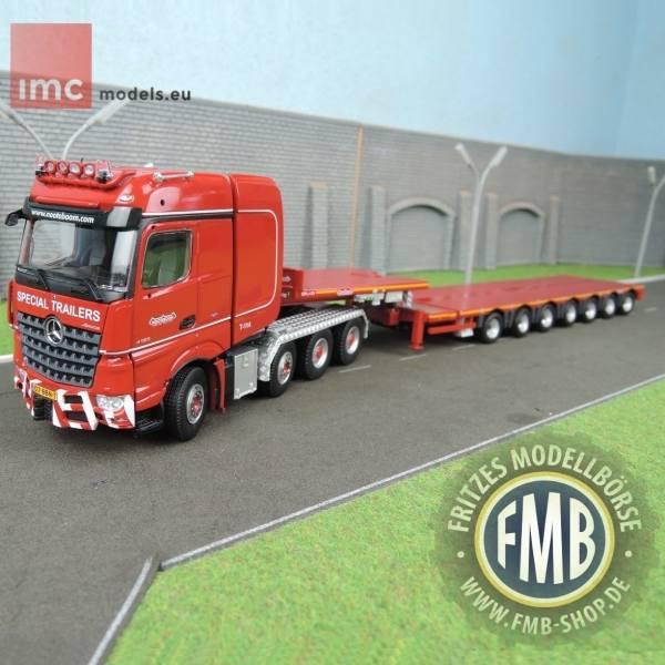 558.45.37 - IMC - Mercedes-Benz Arocs BigSpace 8x4 mit MCO 7achs Tieflader - Nooteboom -