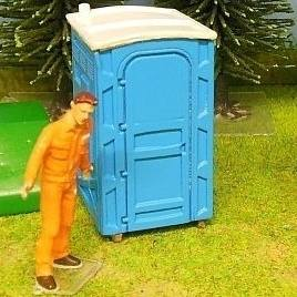 2001007 - Himobo - WC-Häuschen / Toilette