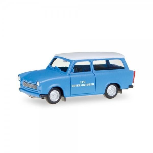"093040 - Herpa - Trabant 601 Universal ""LPG Roter Oktober"" DDR"