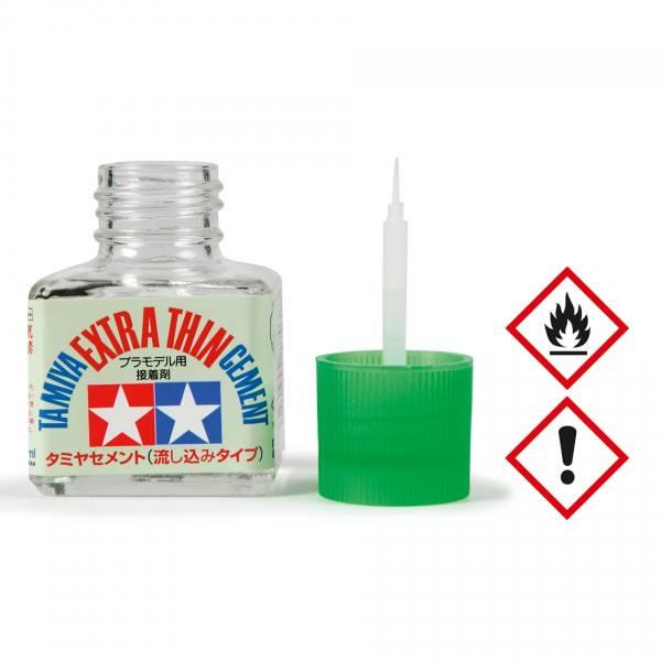 87038 - Tamiya - Plastikkleber extra dünn 40 ml