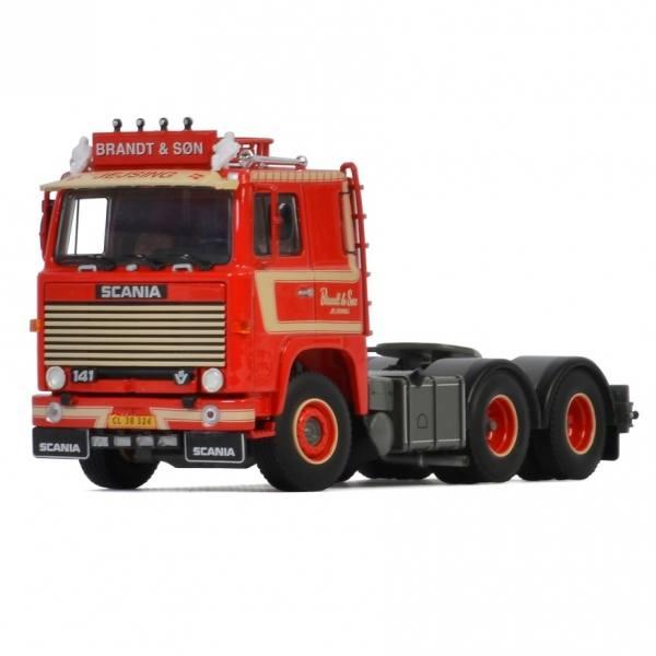 01-3284 - WSI - Scania 141 6x2 3achs Zugmaschine - Brandt & Son - DK